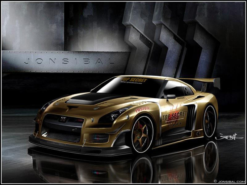 Custom Nissan GT-R